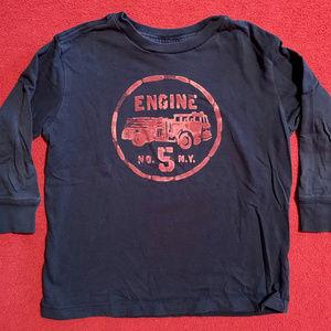 J. Crew fire engine long sleeve t-shirt
